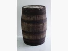 舊酒桶 舊橡木桶 園藝用品 裝置其它家具有輕微破損