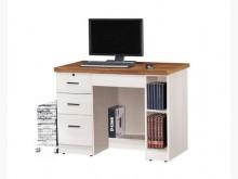 [全新] 哈比雪杉雙色3.5尺書桌5550電腦桌/椅全新
