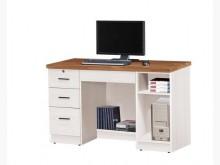 [全新] 哈比雪杉雙色4.2尺書桌6400電腦桌/椅全新