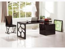 [全新] 達爾黑色伸縮書桌特價12900書桌/椅全新