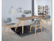 [全新] 萊德6尺餐桌餐桌全新