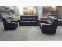 [全新] OZ0217HJE全新咖啡皮沙發多件沙發組全新