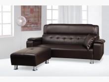[全新] 牛津透氣皮L型沙發椅 桃園區免運L型沙發全新