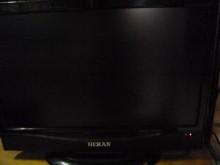 [8成新] 禾聯22吋液晶色彩鮮艷畫質佳電視有輕微破損