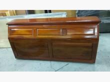 [9成新] 鑫勝2手-5呎床頭櫃(實木)床頭櫃無破損有使用痕跡