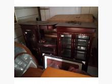[8成新] 花梨木展示櫃(清倉大降價)其它櫥櫃有輕微破損