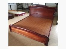 [8成新] 圓柱床底(清倉大降價)雙人床架有輕微破損
