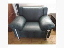 [8成新] 全牛皮沙發(清倉大降價)單人沙發有輕微破損