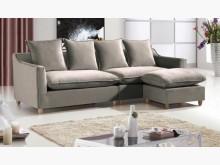 [全新] 嘉蒂斯L型布沙發組$19900L型沙發全新