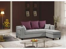 [全新] 沙南L型灰布沙發組特價12800L型沙發全新