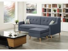[全新] 伯納德L型布沙發組特價13900L型沙發全新