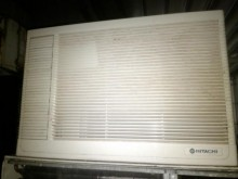 日立窗型冷氣保固一年窗型冷氣有輕微破損