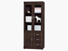 [全新] 時尚傢俱-A全新}2.7尺三書櫃書櫃/書架全新