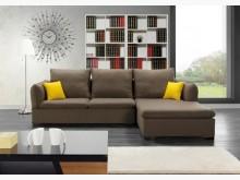 [全新] 克威爾L型布沙發左20900L型沙發全新