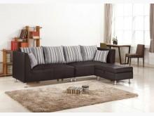 [全新] 艾寶L型黑皮沙發特價20800L型沙發全新