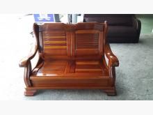 [8成新] 樂居二手A0424DJJ沙發木製沙發有輕微破損