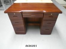 零碼/NG 亞歷山大4.2尺半實書桌/椅全新