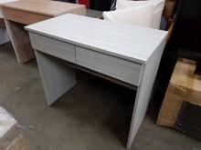 [全新] 毅昌二手家具~木心板雙抽書桌書桌/椅全新
