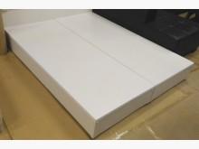 全新5尺白色三分床底 桃區免運雙人床架全新