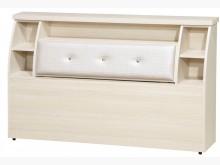 [全新] 雪松6尺浮雕皮床頭特價$4900雙人床架全新