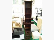 原木置物櫃(大)收納櫃無破損有使用痕跡