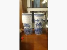 大台北二手傢俱-仿股盤瓷花瓶收藏擺飾無破損有使用痕跡