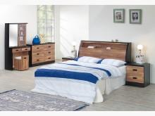 [全新] 積層木5呎雙人床頭箱特價5500雙人床架全新