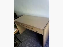 [9成新] 4尺橡木色電腦桌+電腦椅電腦桌/椅無破損有使用痕跡