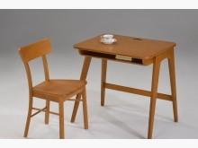 [全新] 柯蕭全實木書桌**(柚木色)書桌/椅全新