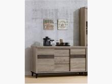 [全新] 古橡木色5尺餐櫃下座特價8900碗盤櫥櫃全新