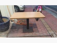 [8成新] 樂居二手E0910AJJA餐桌餐桌有輕微破損