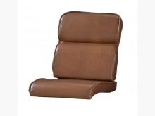 [全新] 土黃色雲彩雙凸皮椅墊 滿7片免運木製沙發全新