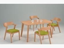 [全新] 卡麗4尺半實木餐桌餐桌全新