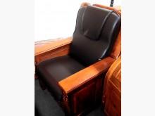 [全新] 頭枕型深咖啡皮椅墊 滿7片免運費木製沙發全新