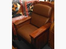 [全新] 土黃色皮雙凸大組椅墊 滿7片免運木製沙發全新