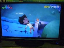 [8成新] 李太太~奇美32吋LED色彩鮮艷電視有輕微破損