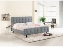 [全新] 艾美5尺灰布雙人床雙人床架全新