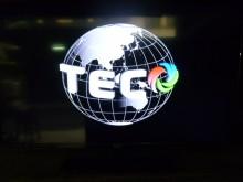 [8成新] 東元42吋液晶畫質優 色彩鮮艷電視有輕微破損