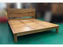[全新] 樂居BL-2858BJB六尺床架雙人床架全新