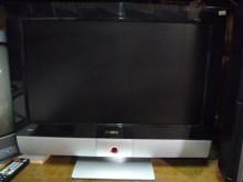 品牌22吋液晶色彩鮮艷畫質佳電視有輕微破損