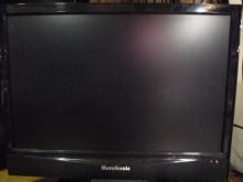 [8成新] 品牌22吋液晶色彩鮮艷畫質佳電視有輕微破損