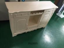 伊麗莎歐式餐櫃碗盤櫥櫃全新