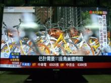 燦坤46吋LED色彩鮮艷畫質佳電視有輕微破損
