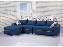 [全新] 喬克隆L型布沙發L型沙發全新
