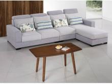 [全新] 喬伯尼L型布沙發L型沙發全新