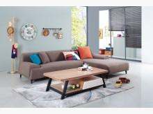 [全新] 樂布朗L型布沙發L型沙發全新