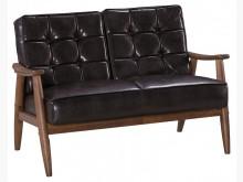 [全新] 復古雙人皮沙發雙人沙發全新