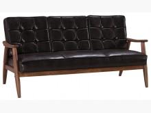 [全新] 復古三人皮沙發雙人沙發全新