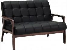 [全新] 圖森透氣皮雙人沙發雙人沙發全新