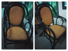 [9成新] 單人藤沙發椅4張4000籐製沙發無破損有使用痕跡